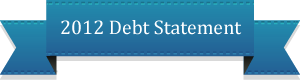 2012 Debt Statement