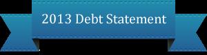 2013debtstatement
