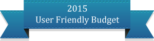 2015 User Friendly Budget