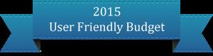 2015 User Friendly Budget
