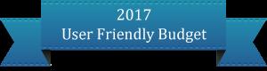 2017 User Friendly Budget